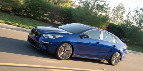 The Kia Forte helped lead its South Korean manufacturer to the best overall score among...