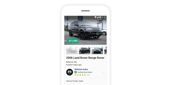 The latest update to OfferUp Autos includes a new feature designed to allow auto dealers to post...
