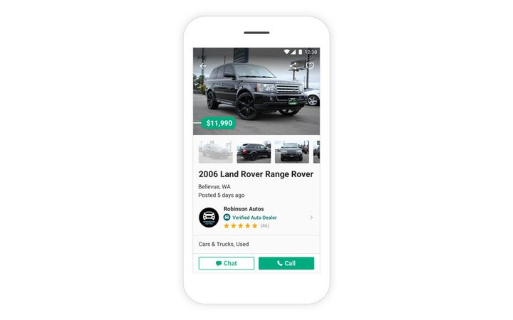 The latest update to OfferUp Autos includes a new feature designed to allow auto dealers to post units using their existing inventory management solution.
