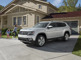 U.S. dealers sold 35,702 new vehicles bearing the Volkswagen marque last month, a 14.4% improvement from May of 2018. Sales of the Atlas SUV (above) have grown 24% year-to-date.