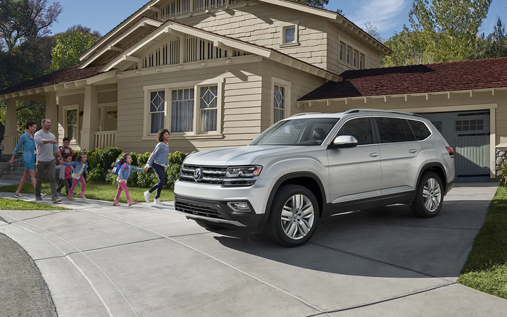 U.S. dealers sold 35,702 new vehicles bearing the Volkswagen marque last month, a 14.4% improvement from May of 2018. Sales of the Atlas SUV (above) have grown 24% year-to-date.  - Photo courtesy Volkswagen AG