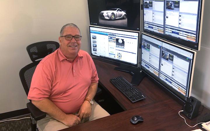 Pre-Owned Director Craig White makes use of new metrics in vAuto's Stockwave platform at Ourisman Lexus of Rockville (Md.). 