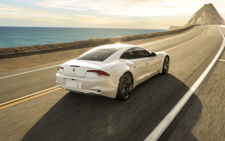 Southern California Karma Revero buyers can now shop online thanks to a new partnership between the manufacturer and Drive Motors.   - Photo courtesy Karma Automotive