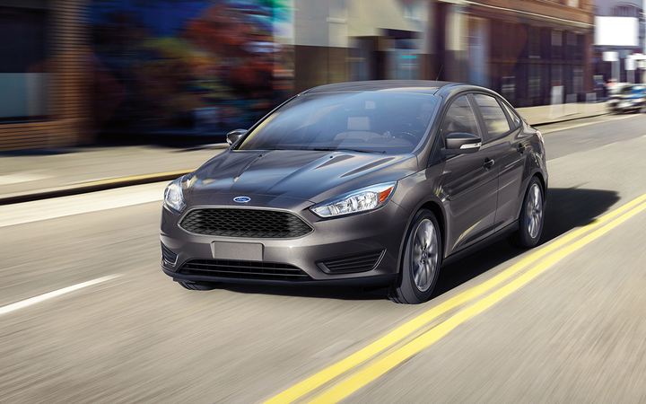Compact cars such as the Ford Focus fell by an average of 0.90% in Black Book's most recent analysis of used-vehicle values. 