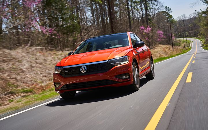 """The Volkswagen Jetta is among Swapalease's """"seriously scary"""" lease deals, offering a six-year warranty and a long list of creature comforts for $149/month.   - Photo courtesy Volkswagen of America Inc."""