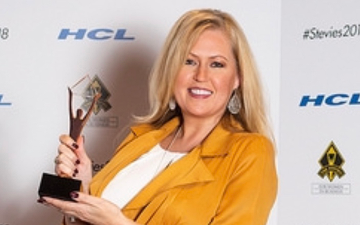 Sheila Hartwell won a Bronze award in the Employee of the Year category in the 2018 Stevie Awards, presented in New York City last week. 