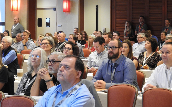 Auto/Mate welcomed 145 DMS customers and 17 exhibitors and sponsors to a three-day User Summit in San Antonio. 