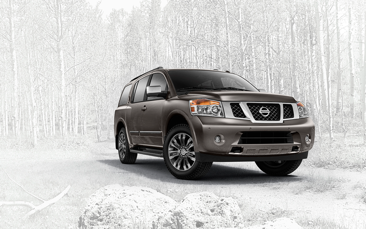 Pre-owned full-size SUVs such as the Nissan Armada depreciated in value by 0.81% in October, according to the latest figures from Black Book.   - Photo courtesy Nissan North America Inc.