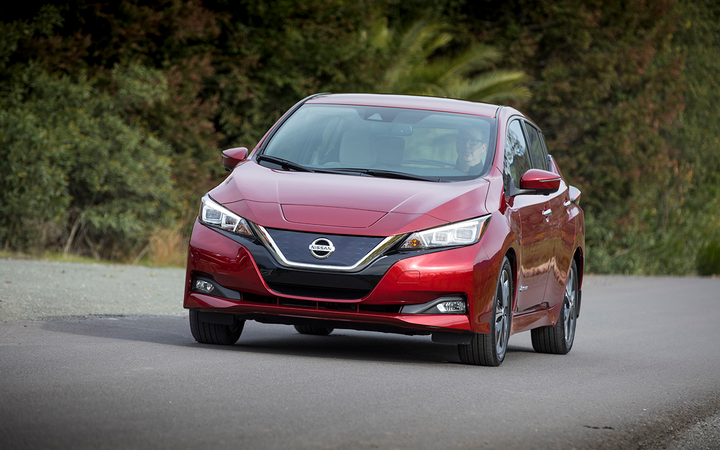 Nissan, which builds the plug-in electric Leaf, is one of four vehicle manufacturers to join the newly formed EV Drive Coalition. 
