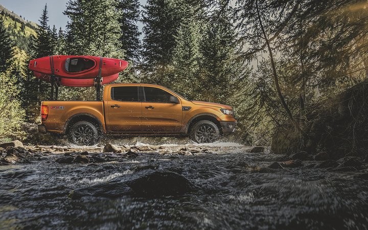 The all-new 2019 Ford Ranger pickup will arrive with a 150-piece accessoryset when it rolls into dealerships early next year.   - Photo courtesy Ford Motor Co.
