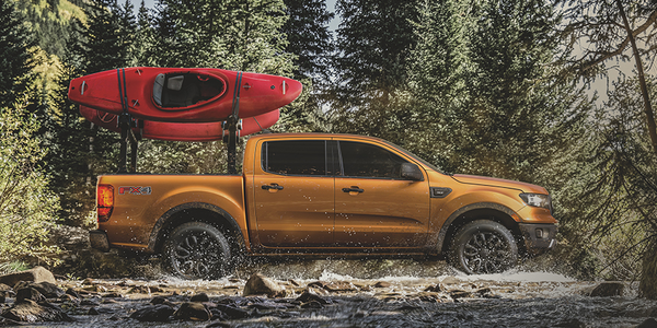 Ford Dealers Get Yakima Lineup for New Ranger