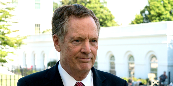 U.S. Trade Representative Robert Lighthizer described China's heightened U.S. auto import...