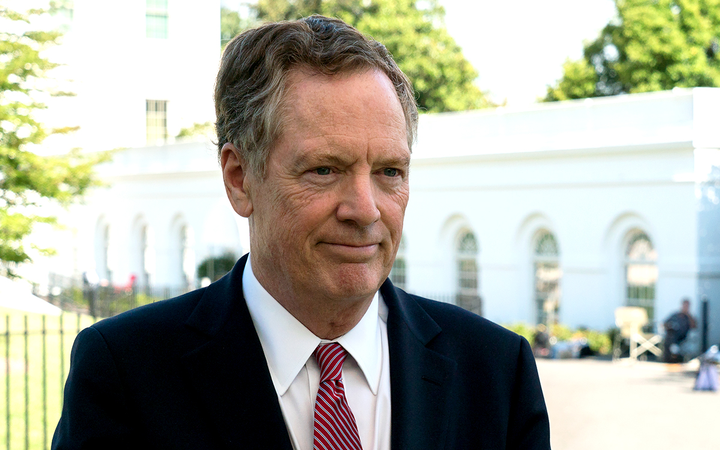 "U.S. Trade Representative Robert Lighthizer described China's heightened U.S. auto import tariffs as ""egregious"" in a statement announcing President Donald Trump ordered a review of the country's trade policies in advance of a private meeting with President Xi Jinping. 