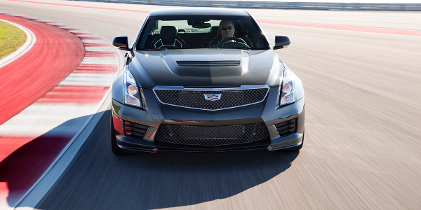 "The high-performance ATS-V is one of six models offered under ""The Book by Cadillac,"" a..."