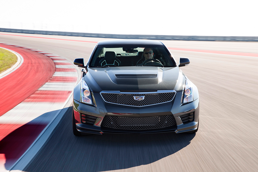 """The high-performance ATS-V is one of six models offered under """"The Book by Cadillac,"""" a..."""