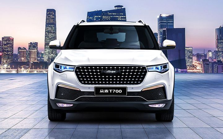 Zotye's first U.S. offering could be related to the T700, a mid-size crossover SUV sold in China since 2016. 