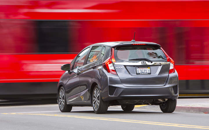 Subcompact cars such as the Honda Fit enjoyed a 0.6% increase in average retained values in Black Book's November report.