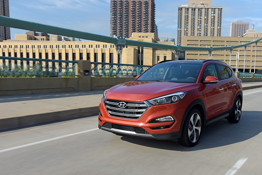 The 2017 Hyundai Tucson registered the lowest average check-engine repair cost in CarMD's latest...