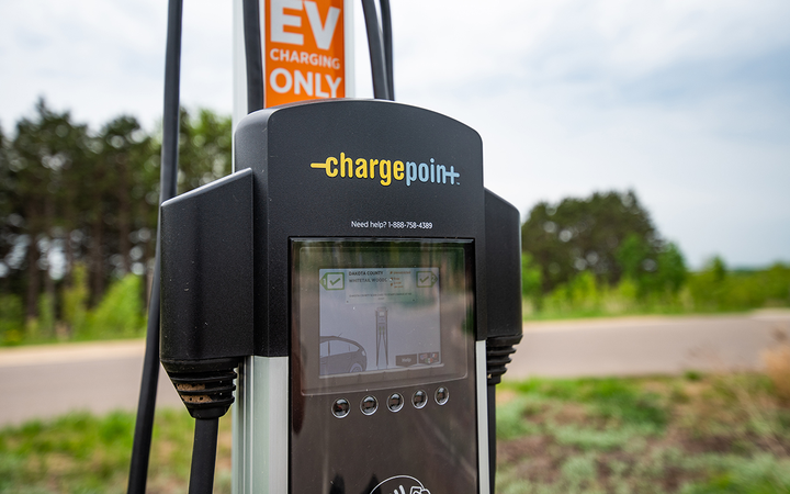 U.S. electric-vehicle sales forecasted by the Edison Electric Institute would require the presence of more than 9 million charging ports by 2030.  