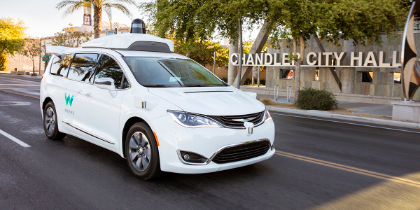 Self-driving, revenue-generating taxis have officially hit the streets of Chandler, Ariz., and...