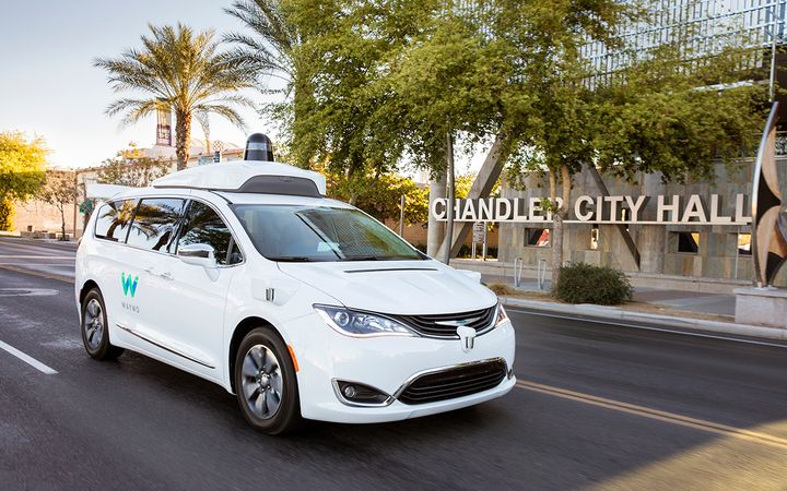 Self-driving, revenue-generating taxis have officially hit the streets of Chandler, Ariz., and other Phoenix-area cities. 