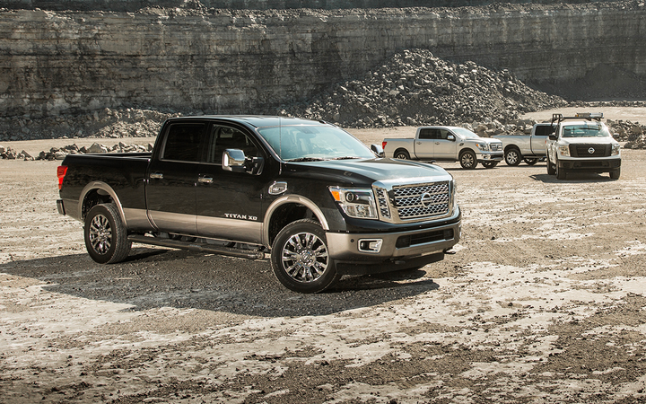 Nissan will end production of the diesel-powered Titan XD pickup in December. 