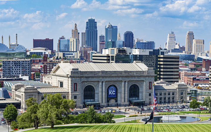 Executives said dealers in Kansas City, Mo. (pictured), and Minneapolis can now register to transact through TradeRev in as little as 10 minutes. 