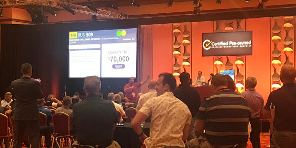 Fiat Chrysler's first annual CPO meeting included a live demonstration of ADESA's Simulcast...