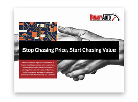 A new whitepaper from Binary Automotive Solutions urges dealers to focus on lifelong relationships rather than short-term sales reports.