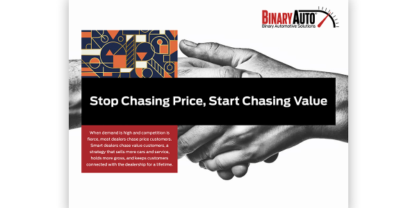 A new whitepaper from Binary Automotive Solutions urges dealers to focus on lifelong...