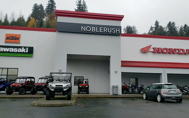 NobleRush's multibrand dealership in Auburn, Wash., is one of five shuttered under mysterious circumstances last week.   - YouTube
