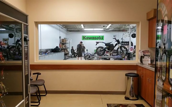 Newspaper and social media reports say some NobleRush employees have taken it upon themselves to reopen the stores to deliver sold bikes and return units brought in for service.   - YouTube
