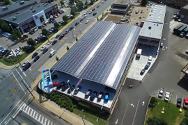 World's First Carbon-Neutral Dealership Changes Hands