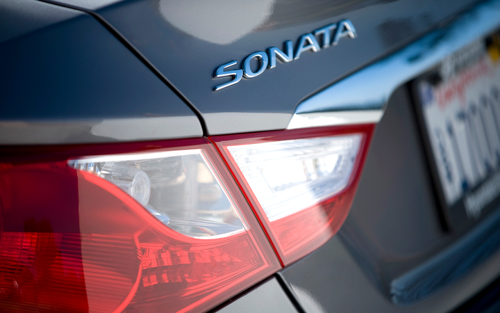 The sixth-generation Hyundai Sonata is at the center of a scheme the automaker alleges a Pennsylvania dealer undertook to fraudulently claim $5 million in factory repurchase funds.   - Photo courtesy Hyundai Motor Co.