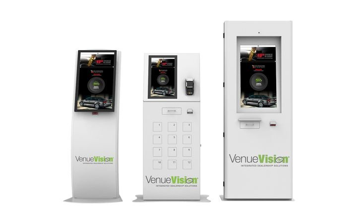 VenueVision-branded GoMoto kiosks will be integrated with the reseller's scheduling and dispatching software. 