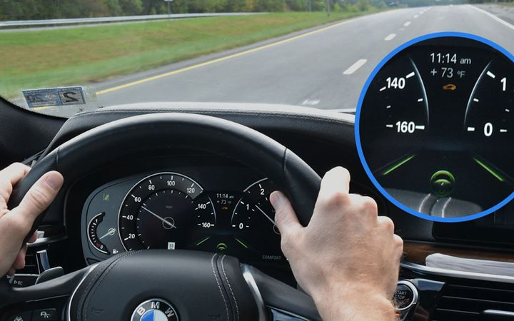 This latest test research from IIHS confirms findings from a similar 2018 study that found drivers are more comfortable with systems that make smooth, gradual speed or steering adjustments.  - Photo courtesy IIHS