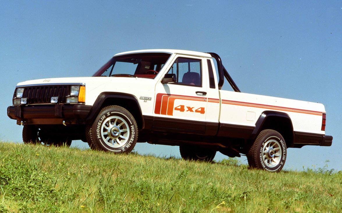 Jeep discontinued its last North American pickup, the Comanche, after producing a total of...