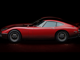 The new car was designed to honor Toyota's racing heritage, including the 1967 2000 GT.