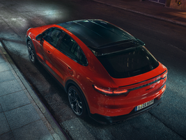 Buyers who opt for any of the Cayenne Coupe's three available Sport Design packages will get a...