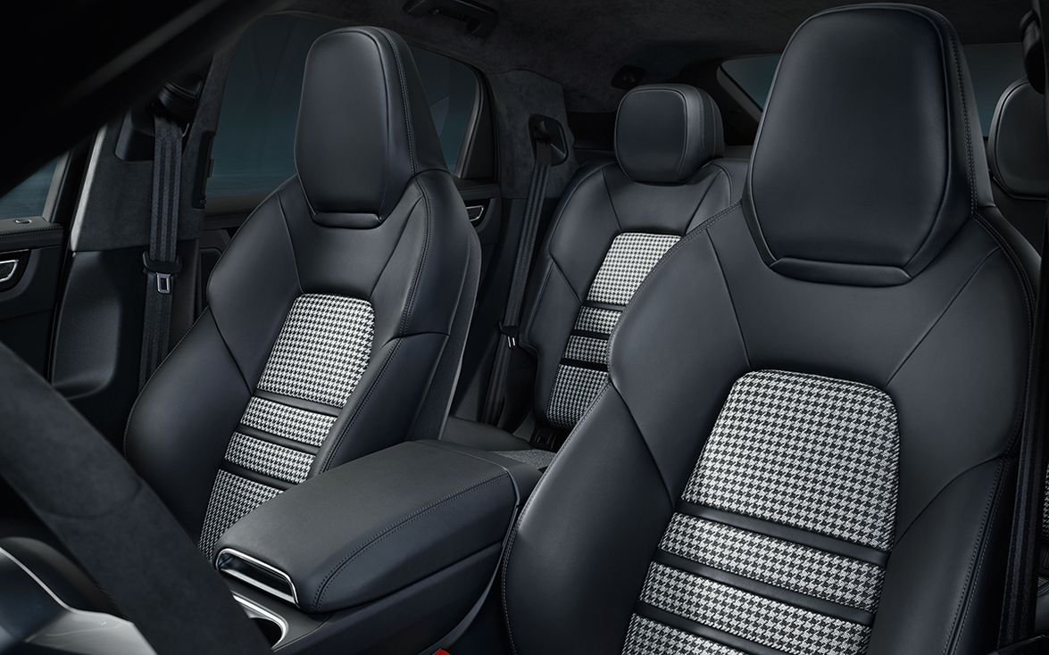 Individual rear seats are standard equipment on the Turbo Coupe and available as a no-cost...