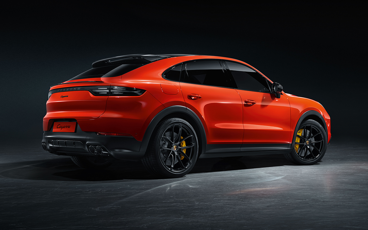 The Cayenne Coupe gets a 3.0-liter turbocharged V-6 that delivers 335 horsepower, 332 pound-feet...