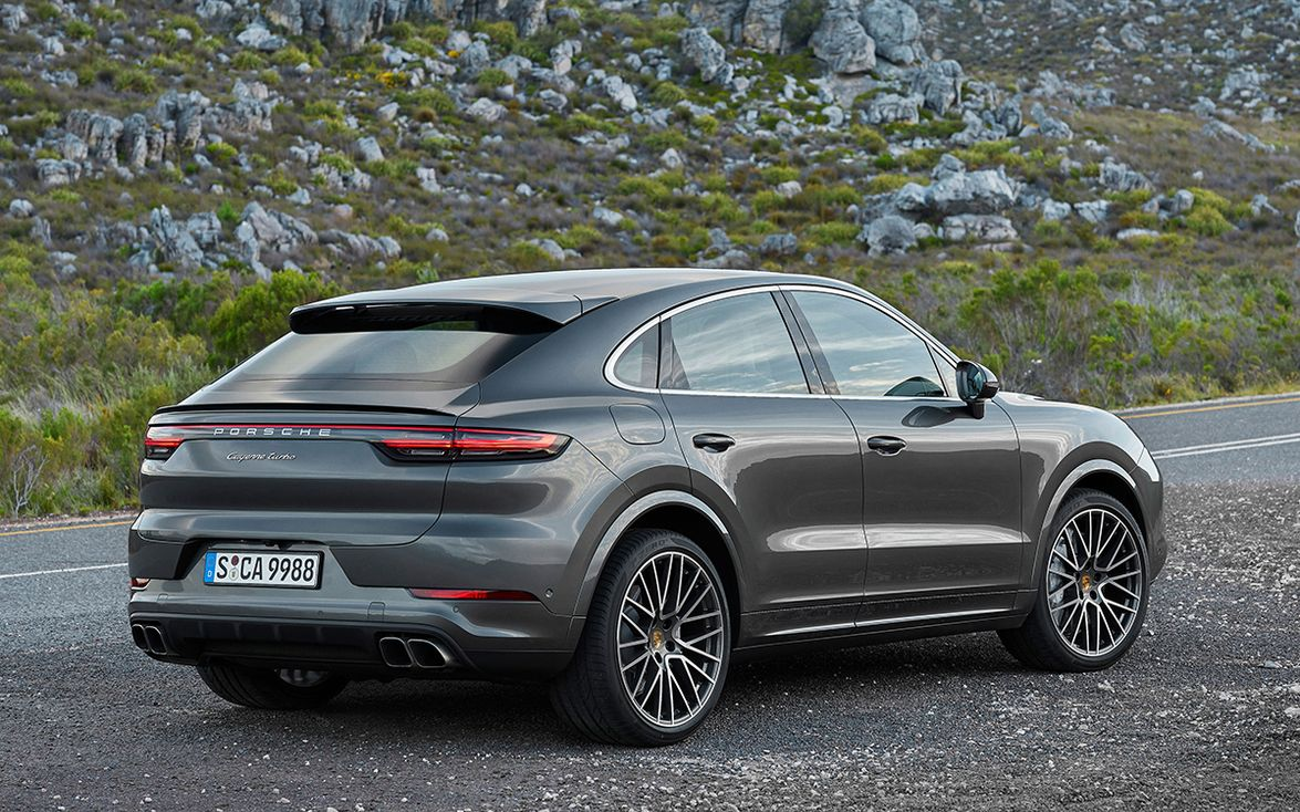 The Turbo Coupe ups the ante with a 4.0-liter twin-turbocharged V-8 good for 541 horsepower and...