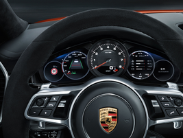 Porsche claims zero-to-60 time of 5.7 seconds for the base Cayenne Coupe, 5.6 seconds for...