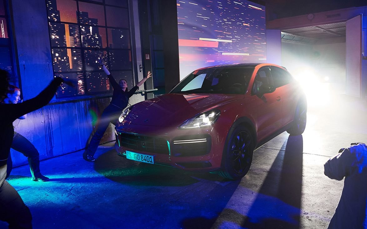 The 2020 Porsche Cayenne Coupe made its global debut at the factory's Stuttgart, Germany,...