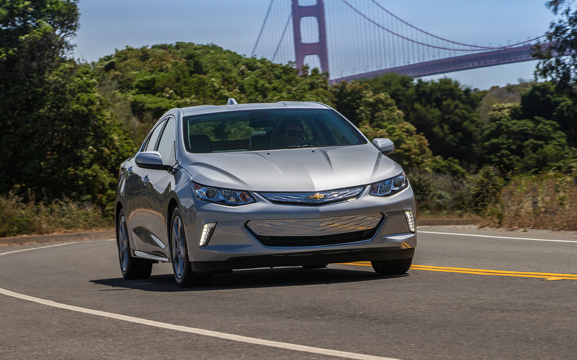 "2016–'19 Chevrolet Volt: ""With an impressive all-electric range of 53 miles and a modern..."