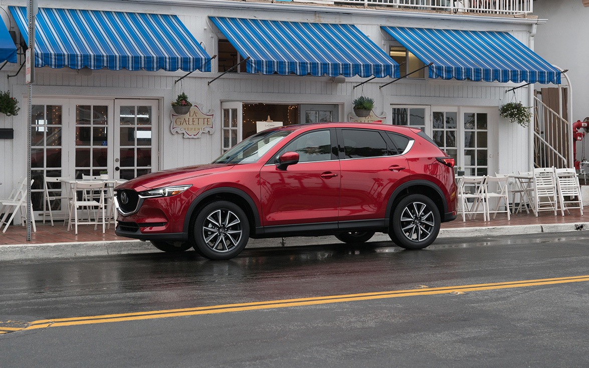 """2017–'19 Mazda CX-5: """"As a class leader, the Mazda CX-5 will make drivers feel like they're in a..."""