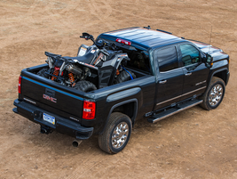 "2014–'18 GMC Sierra: ""Mechanically identical to the Chevy Silverado, the Sierra is also all-new..."