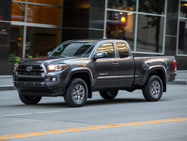 "2016–'19 Toyota Tacoma: ""The Toyota Tacoma midsize pickup truck was fully redesigned for 2016,..."