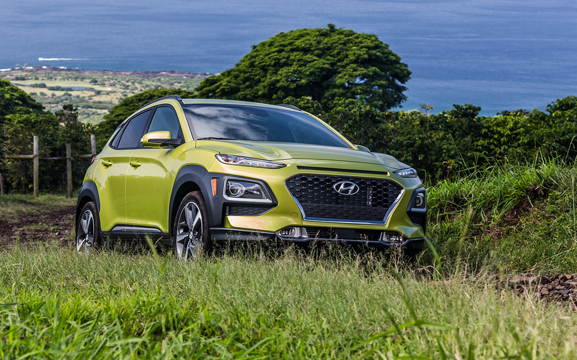 """7. Hyundai Kona: """"The Kona has the space of a small crossover, with plenty of sportiness and..."""