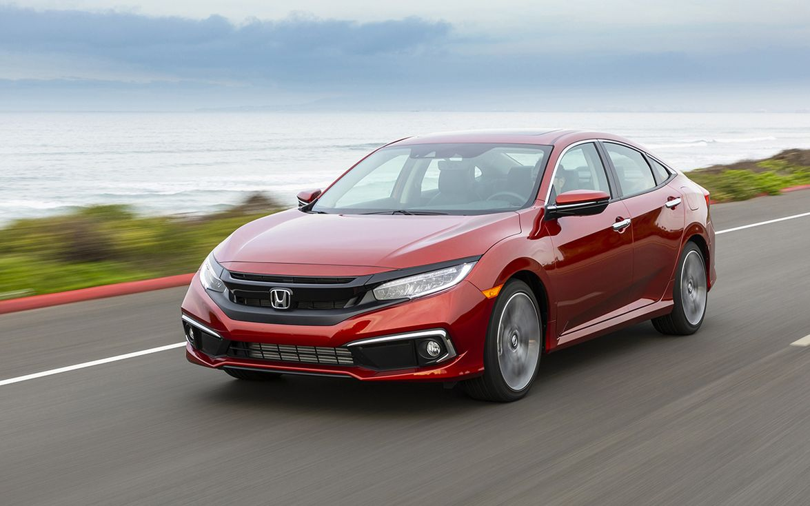 """3. Honda Civic: """"The Honda Civic has been our Compact Car Best Buy every year we've given the..."""